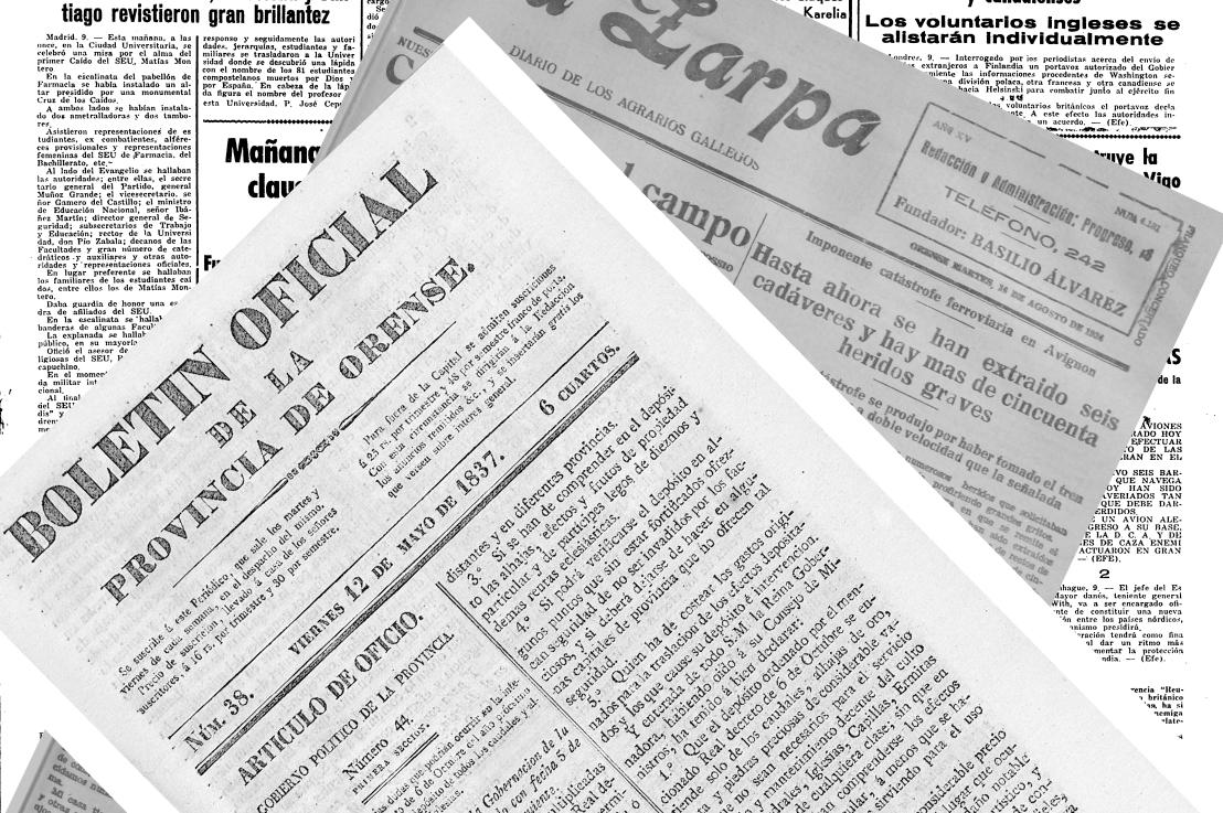 Sucesos relacionados con Parderrubias publicados en prensa: finales del siglo XIX y primera mitad del XX. Por Juan Carlos SierraFreire