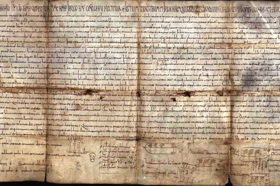 E33. Acerca de la primera referencia documental a Parderrubias en el año 957.  Por Tino Outumuro y LitoOutumuro