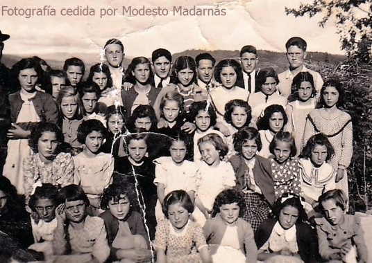 Escuela de Niñas año 1951
