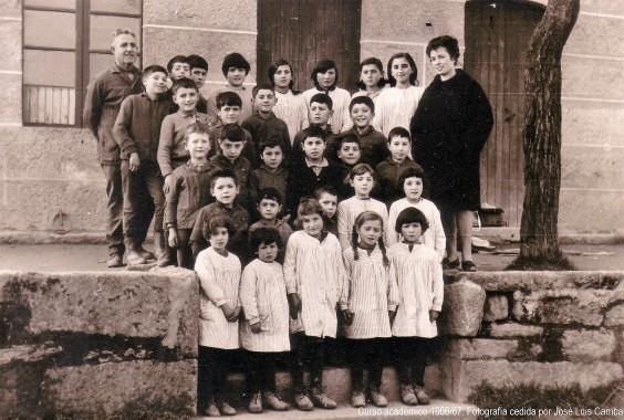 Escuela de Niños y Escuela de Niñas curso escolar 1966/67