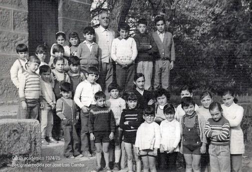 Escuela Mixta 1974/75