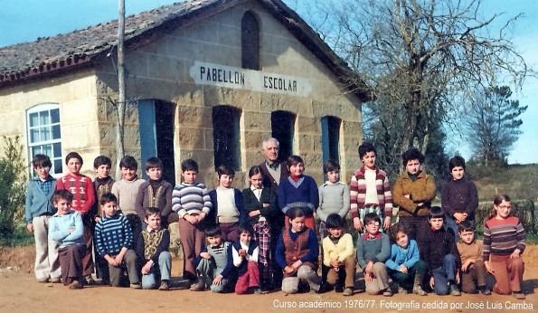 Escuela Mixta 1976/77
