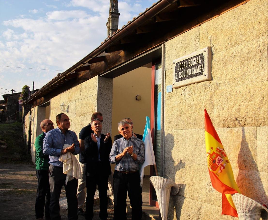 "E41. Parderrubias rinde homenaje a Don Isolino Camba Casas, ""O Señor Maestro"". Por Juan Carlos SierraFreire"