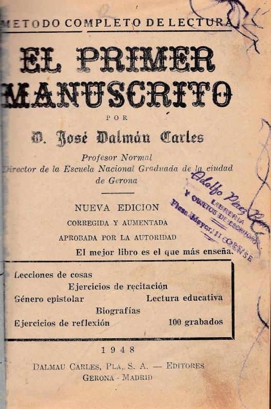 El Primer Manuscrito