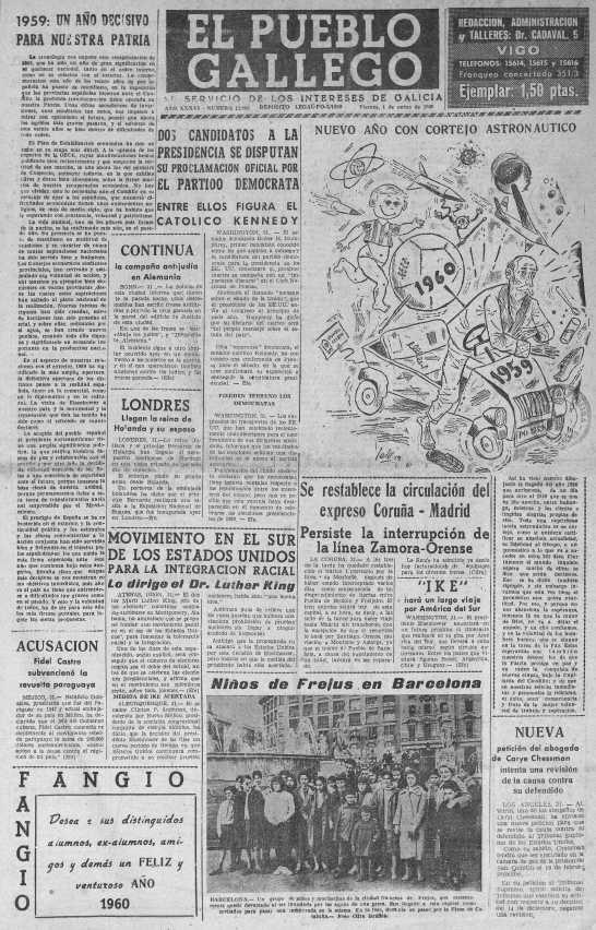 El Pueblo Gallego_1enero1960