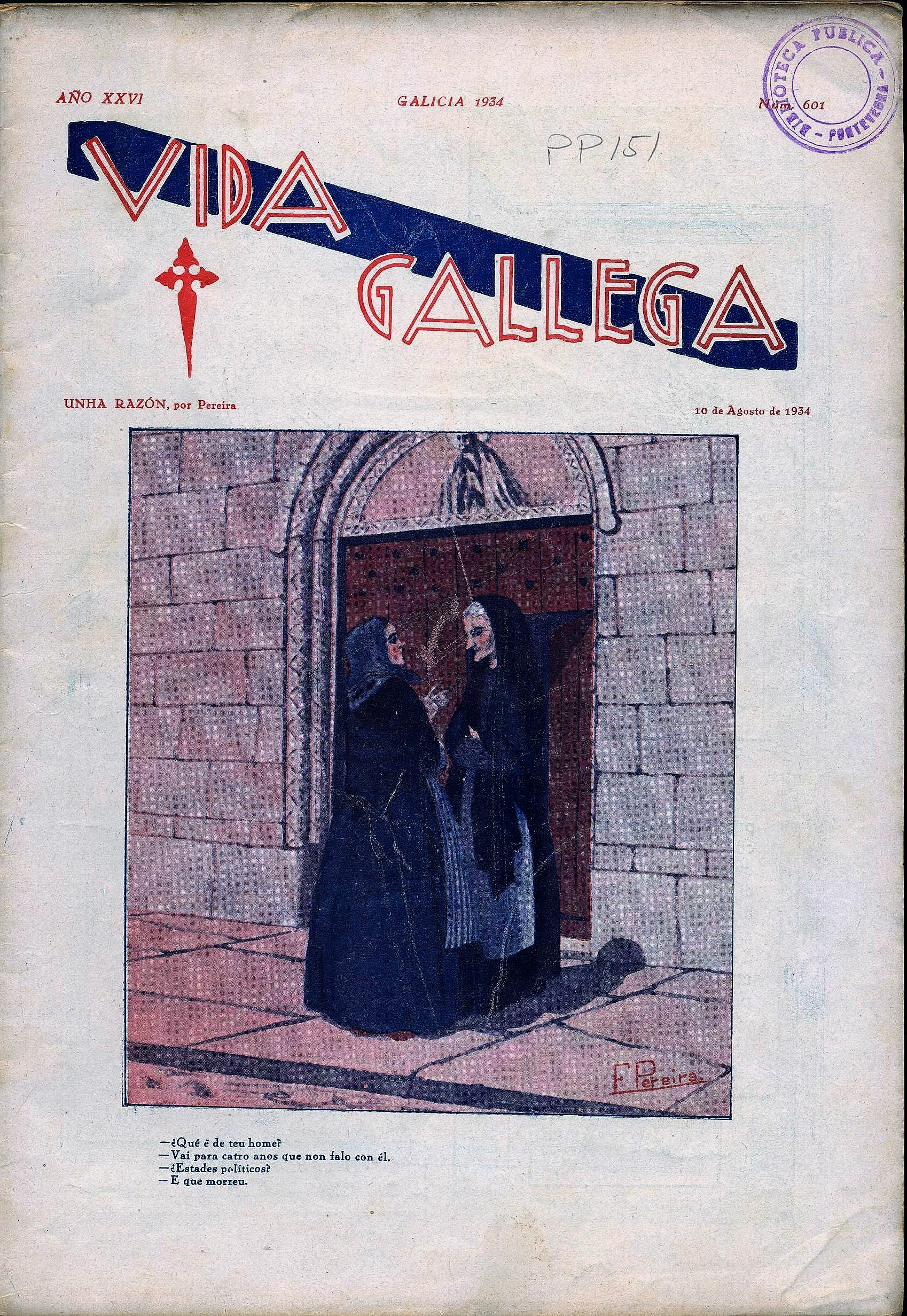 6_portada vida gallega 1934