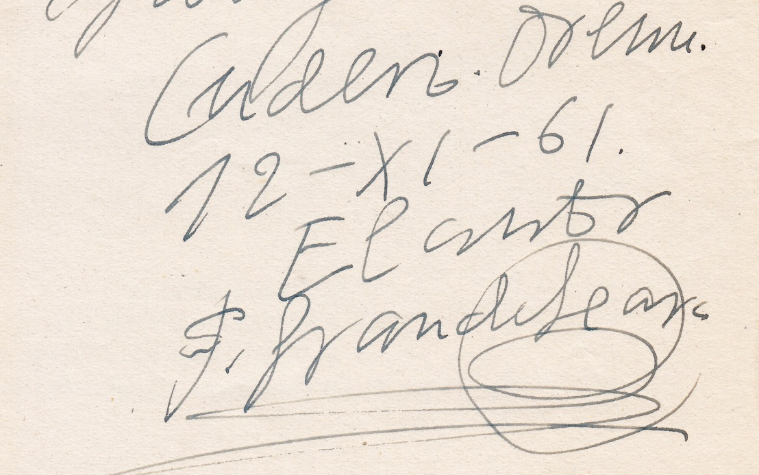 E47. Poemario de Don Felisindo Grande Seara. Por Juan Carlos SierraFreire
