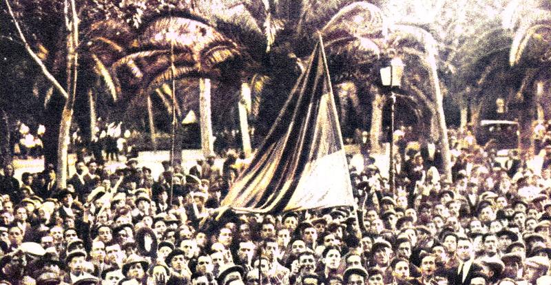 Nacer y crecer en tiempos revueltos:1930-1936